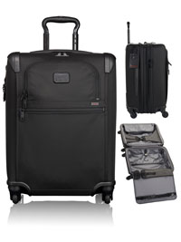 BLACK TUMI Continental Expandable 4 Wheeled Carry-On