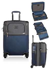 NAVY                           TUMI Continental Expandable 4 Wheeled Carry-On