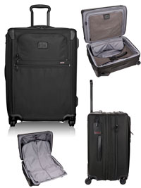 BLACK TUMI Expandable 4 Wheeled Packing Case