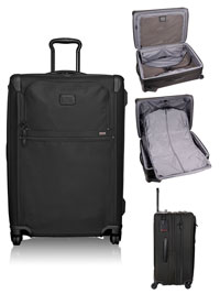 BLACK TUMI Medium Trip Expandable 4 Wheeled Packing Case