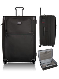 BLACK TUMI Extended Trip Expandable 4 Wheeled Packing Case