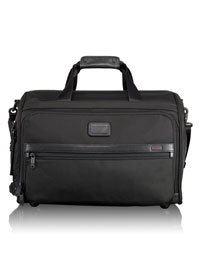 BLACK TUMI Framed Soft Duffel