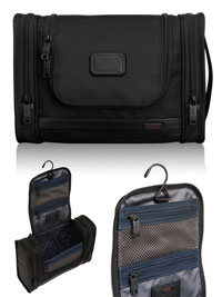 BLACK TUMI Hanging Travel Kit