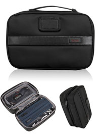 BLACK TUMI Split Travel Kit