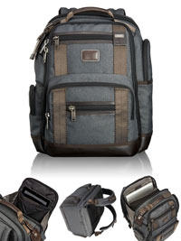 GRAY                           TUMI Deluxe Brief Pack