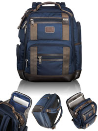 NAVY                           TUMI Deluxe Brief Pack