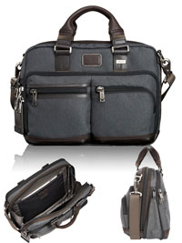 GRAY TUMI Andersen Slim Brief