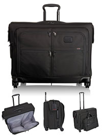 BLACK TUMI 4 Wheeled Medium Trip Garment Bag
