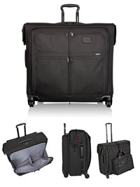 BLACK TUMI Extended Trip Wheeled Garment Bag