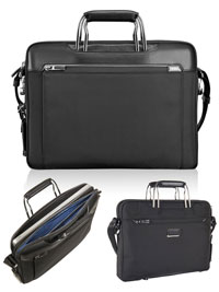 BLACK TUMI Hamilton Slim Brief