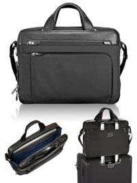 BLACK TUMI Sawyer Brief