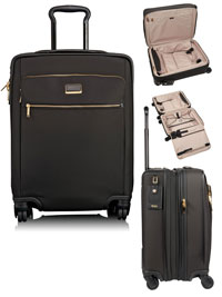 BLACK                          TUMI Sophie Continental Expandable 4 Wheeled Carry-On
