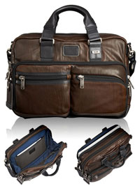 BROWN TUMI Andersen Slim Brief