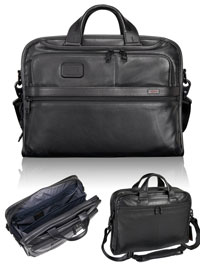 BLACK TUMI Organizer Portfolio Brief