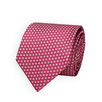 Tie-Pink Woven Neat