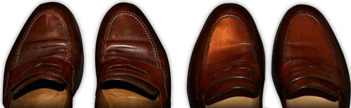 scuffed shoes By eschipul flickr.com